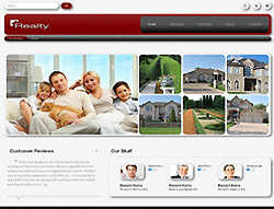 Joomla! Real Estate Template - 002040