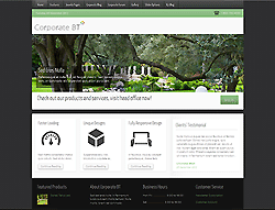 Joomla! 2.5 - 3 Template - Corporate BT