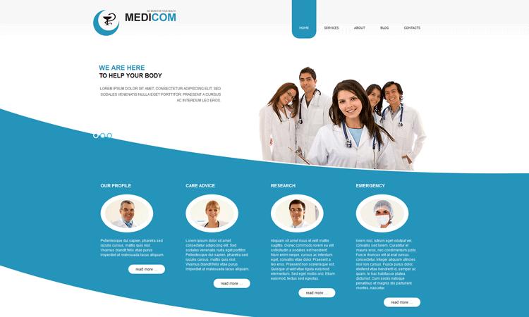 Best Medical Joomla Template