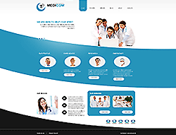 Medical Joomla! Template - 002044