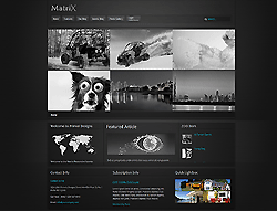Joomla! 3 Template - Matrix PT