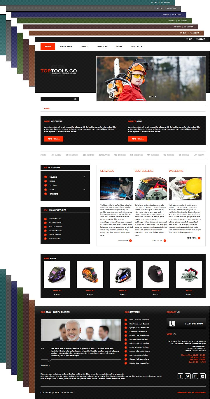 TopTools eCommerce Joomla! template