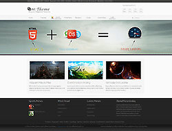 Joomla! 2.5 - 3 Template - News Today PT