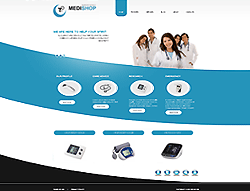 Joomla! 3  VirtueMart Template - 002047