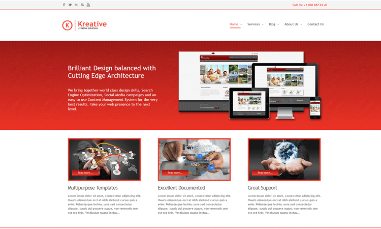 Best Responsive Business Joomla Template