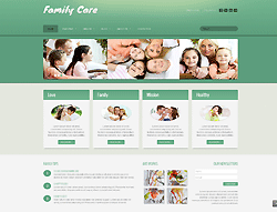 Family Joomla Template - 002050