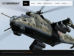 Military Joomla Template - Uniconsult PT