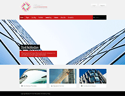 Architecture Joomla Template - Atlantis PT