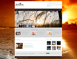 Joomla! 2.5 - 3 Template - All Saints PT