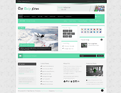 Joomla! 2.5 - 3 Template - The Daily News PT