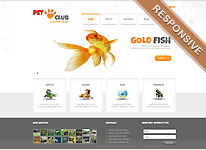 Joomla Template - Pet Club