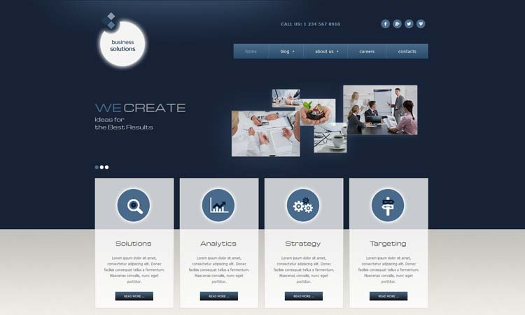 Best Business Services Joomla Template