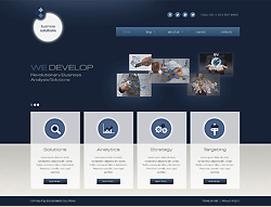 Business Joomla! Template - 002058