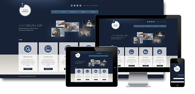 002058 - Business Joomla! Template