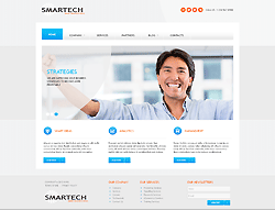 Joomla! 3 Bootstrapped Template - 002055