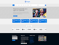 Joomla! 3 Template - Bloggite
