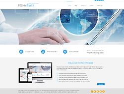 Hightech Joomla Template - 002057