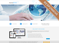 Joomla Template - TechnoWeb