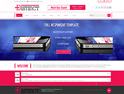 Joomla! 3 Template - Distinct