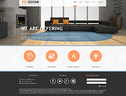 Interior Decor Joomla Template - 002059