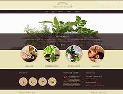 Beauty and Spa Joomla Template - 002060