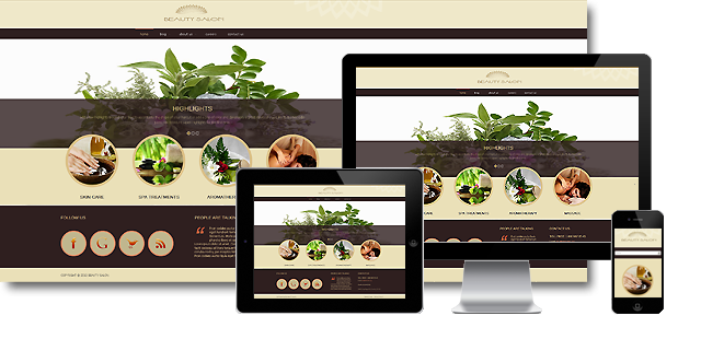 002060 - Joomla! Beauty and Spa Template