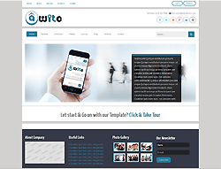 Business Joomla! Template - Awite