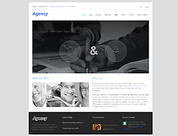 Joomla! 3 Template - Agency PT