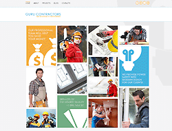 Joomla! 3 Bootstrapped Template - 002061