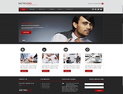 Joomla! 3 Bootstrapped Template - 002063
