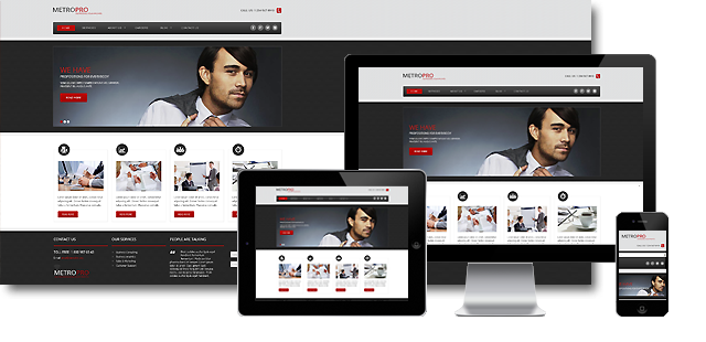 002063 - Business Joomla Template