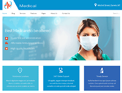 Joomla! 3 Template - Medical PT