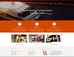 Joomla! Transportation Template - 002064