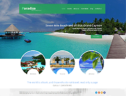 Joomla! Travel Template - 002065