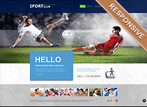 Joomla Template - Sport Club