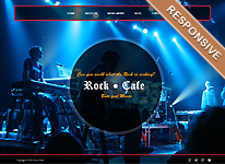 Joomla Template - Rock Cafe