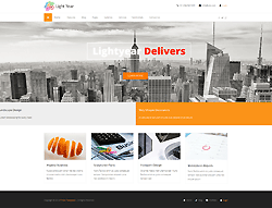 Business Joomla Template - LightYear PT