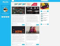 Joomla! 3 Template - TM Postite