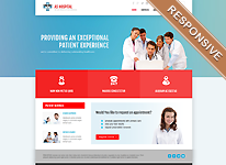 Joomla Template - AS Hospital