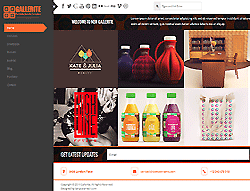 Joomla! 3 Template - Gallerite
