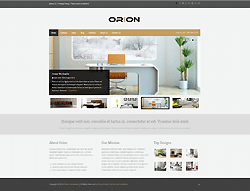 Joomla! 2.5 - 3 Template - Orion PT