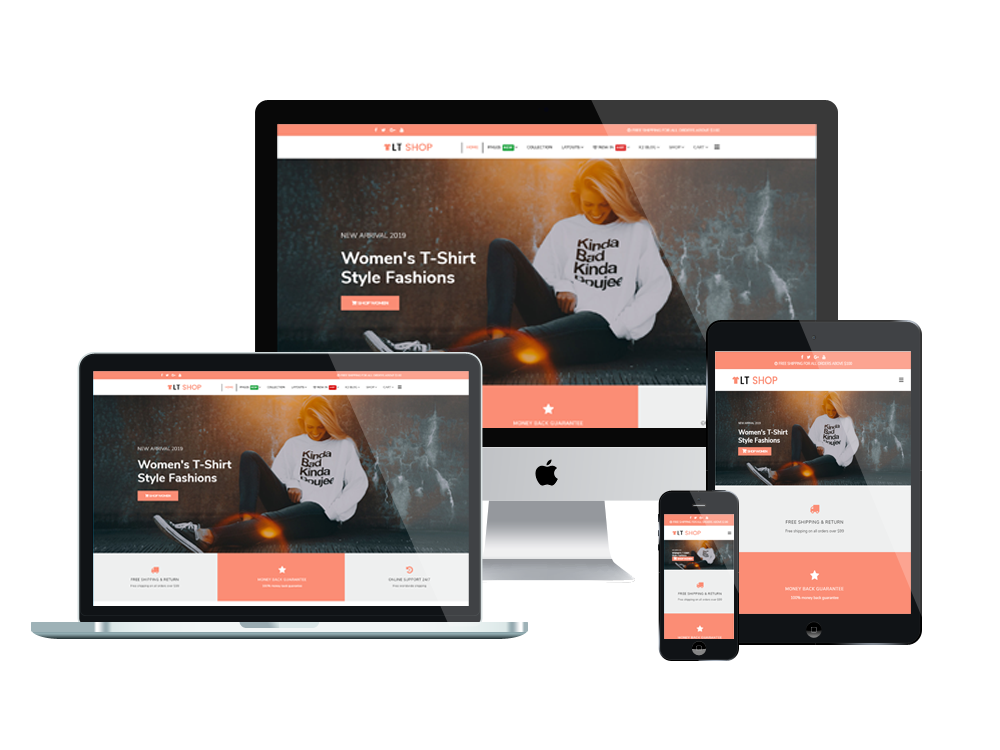 LT Shop Joomla template