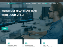 Web Design Joomla! 3 Template - LT Web Design