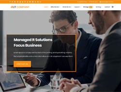 Business Joomla Template - LT Company
