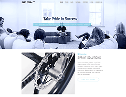 Business Joomla! Template - Sprint PT