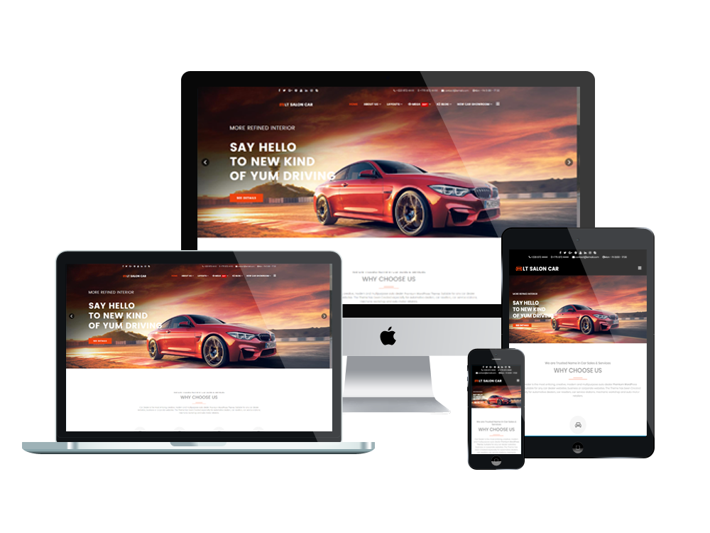 LT Salon Car Joomla template