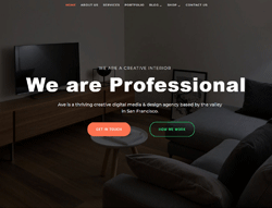Agency Joomla Template - LT Design Studio