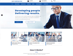 Business Joomla Template - LT Corporation