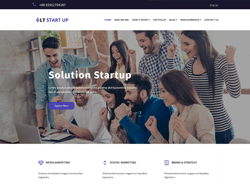 Business Joomla Template - LT StartUp