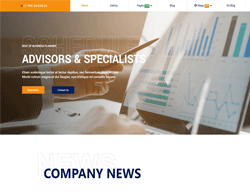 Business Joomla Template - LT Pro Business